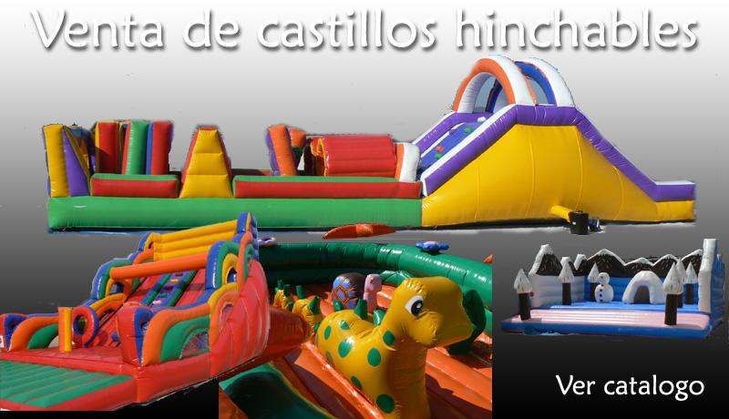 venta castillo hinchable