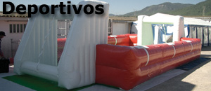 Inflatable sports competition