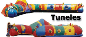 Inflatable tunnels infantiles