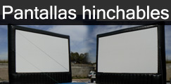 Inflatable Projection Screens